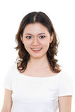 Young woman happy face expression Royalty Free Stock Photos