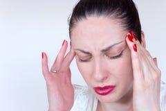 Causes of migraines Stock Photo