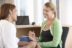 Young Woman Having Counselling Session Royalty Free Stock Images