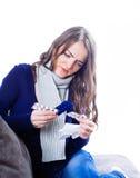 Young woman having flu Stock Photos