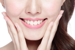 Young woman health teeth Royalty Free Stock Photo