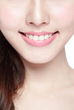 Young woman health teeth Stock Photography