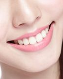 Young woman health teeth Royalty Free Stock Photography