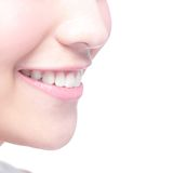 Young woman health teeth Stock Image