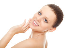 Young woman with healthy clean skin Royalty Free Stock Photography