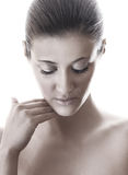 Young woman with healthy fresh skin Royalty Free Stock Images