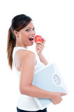 Young Woman In Healthy Lifestyle Royalty Free Stock Photos