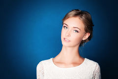Young Woman. Healthy Skin Royalty Free Stock Images