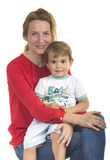 Young woman with her son Stock Image