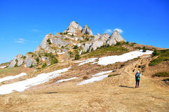Hiker Royalty Free Stock Images