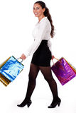 Young Woman Holding Shopping Bag Royalty Free Stock Photo