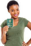 Young woman ID Stock Image