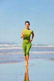 Young woman jogging Stock Photos
