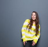 Young woman laughing Royalty Free Stock Image