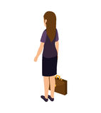 Young woman lifestyle avatar. Vector illustration design Stock Photography