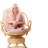 Young woman in lingerie Royalty Free Stock Images