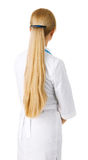 Young woman with long blonde hair Stock Photos