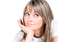 Young woman looking aside Royalty Free Stock Photo
