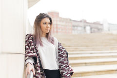 Young woman looking away. Stock Photography