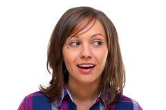 Young woman looking away Stock Photos