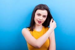 Young woman looking at camera Royalty Free Stock Image