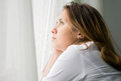 Free Young Woman Looking Sad Stock Photo - 11573970