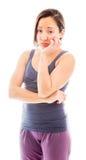 Young woman looking sad Stock Photo