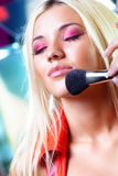 Young woman makeup Royalty Free Stock Image