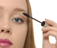 Young woman makeup Stock Photos