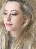 Young woman with makeup Royalty Free Stock Photo