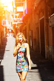 Young woman in Mallorca Royalty Free Stock Photo