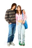 Young woman and man Royalty Free Stock Images