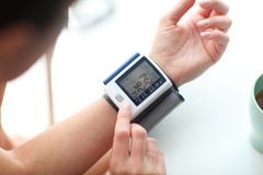 High blood pressure. Royalty Free Stock Photo