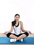 Young woman meditation Stock Photos