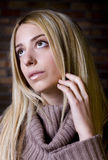 Young woman model Royalty Free Stock Images