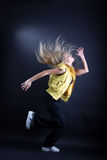 Young woman modern dancer Royalty Free Stock Images