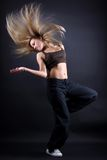 Young woman modern dancer Stock Photo