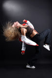 Young woman modern dancer royalty free stock photography