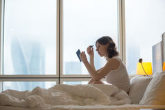 Young woman morning Stock Photo