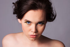 Young Woman Natural Beauty Royalty Free Stock Image