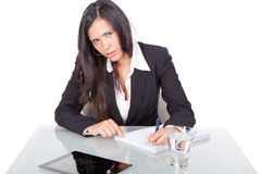 Young woman office Stock Image