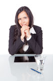 Young woman office Royalty Free Stock Photos