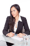 Young woman office Stock Photography