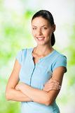Young woman, outdoor Royalty Free Stock Photo