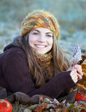 Young woman outdoor Stock Photo