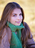 Young woman outdoor Stock Image