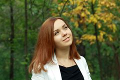 Young woman outdoor Royalty Free Stock Photo