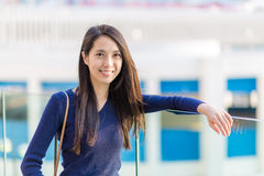 Young woman outdoor portrait Stock Image