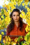 Young woman outdoors Stock Photos