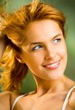 Young woman, outdoors Royalty Free Stock Photo